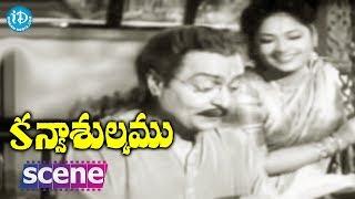 #Mahanati Savitri Kanyasulkam Movie Scene - Panthulu Sends A Letter To Lubdhavadhanlu || Savitri - IDREAMMOVIES