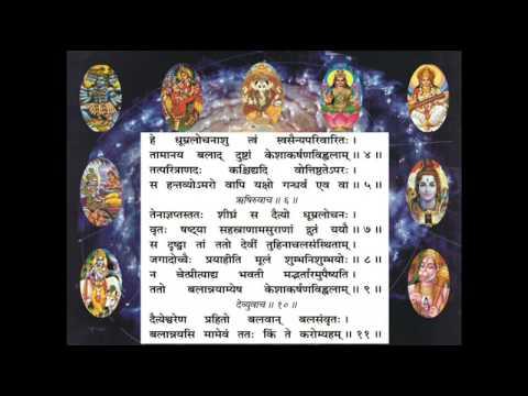 Durga Saptashati – Sixth Chapter (Pujaa.se )