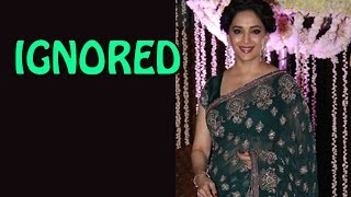 Vidya Balan and Raveena Tandon ignore Madhuri Dixit at Riddhi Malhotra's Reception - EXCLUSIVE