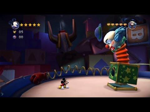 Gry dla dzieci - Myszka Miki - Kraina Zabawek - Castle of Illusion #2 Game Play