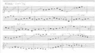 gaur plains sheet music