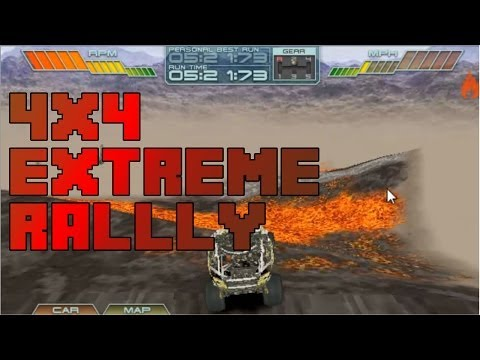 Lets play old games - LEGO 4x4 Extreme Rally
