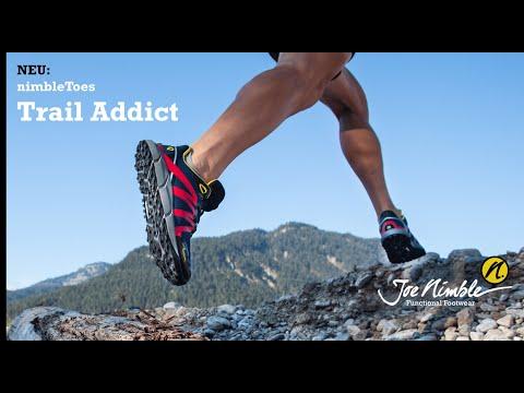 nimbleToes Trail Addict von Joe Nimble - der revolutionre Trailrunningschuh mit schmerzfrei-Philosophie 2020