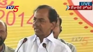 Telangana CM - KCR Speech In Novotel | LIVE : TV5 News - TV5NEWSCHANNEL