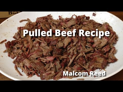 Pulled Beef Sandwich | Smoked Chuck Roast Recipe with Malcom Reed HowToBBQRight