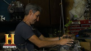 American Pickers: Mike is Too Smart to Pass up a Knucklehead Engine (S18, E24) | History - HISTORYCHANNEL