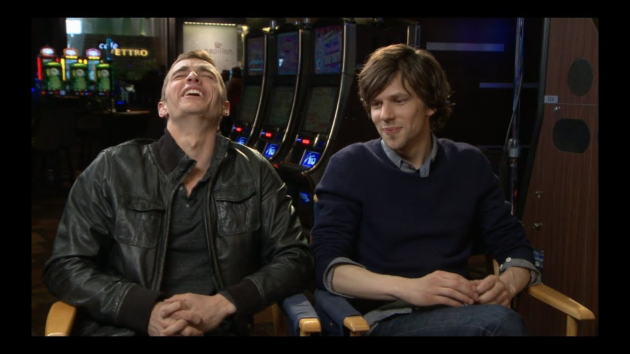 Jesse Eisenberg and Dave Franco Interview and Set Visit for NOW YOU SEE ME