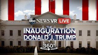 360º Trump Presidential Inauguration (VR) | ABC News - ABCNEWS