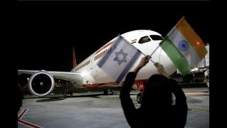 Air India makes history by flying to Israel via Saudi airspace - ABPNEWSTV