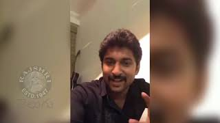 Actor Nani About Sri Reddy And Krishnarjuna Yuddham Movie - RAJSHRITELUGU