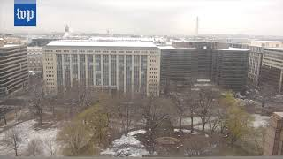 Timelapse: A day of D.C. snow in 90 seconds - WASHINGTONPOST