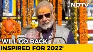 In Kedarnath, PM Modi Seeks Blessings For A 'Developed India' By 2022 - NDTV