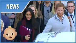 Pregnant Meghan Markle arrives in Australia with Prince Harry - THESUNNEWSPAPER