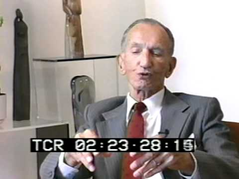 Karski recalls the collapse of his perception of Poland's power in his interview with E. Thomas Wood.
