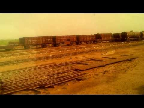 Karakoram Express passing through Kotri Junction