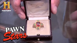 Pawn Stars: 19th Century Roman Catholic Cardinal Ring (Season 7) | History - HISTORYCHANNEL