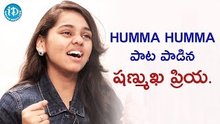 Shanmukha Priya Croons Humma Song || Talking Movies With iDream - IDREAMMOVIES