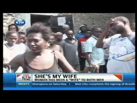 KTN Prime Two men clash over a woman in Mombasa