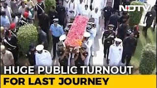 Farewell, Atal Bihari Vajpayee. PM Modi, Thousands Join Last Journey - NDTV