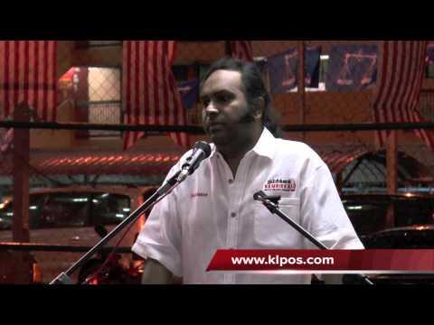 Pembangkang Derhaka Terhadap Sultan & Raja - Raja Melayu - Kalaivanar 7/4/2013