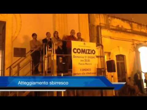 Politica, Misterbianco, 21 giugno: comizio del sindaco Nino Di Guardo