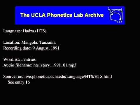 Hadza audio: hts_story_1991_01