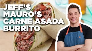 Jeff Mauro's Carne Asada Burrito | Food Network - FOODNETWORKTV