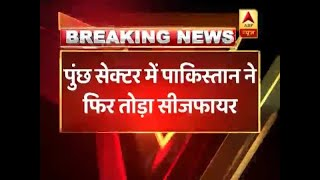 J&K: Pakistani troops violate ceasefire in Poonch - ABPNEWSTV