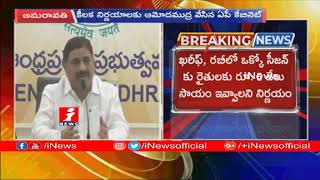 AP Cabinet Key Decisions  |  TDP MP Kalva Srinivas Pressmeet | Amaravathi | iNews - INEWS