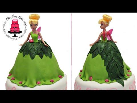 "Торт домашний ""Фея Динь-динь"" для девочки, своими руками"