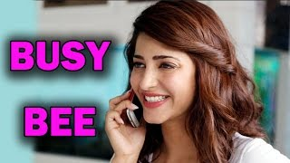 Shruti Hassan - The Busy Bee reveals her future projects | Bollywood News