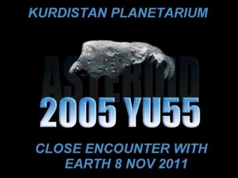 Asteroid 2005 YU55 Close Encounter with Earth 8 Nov 2011