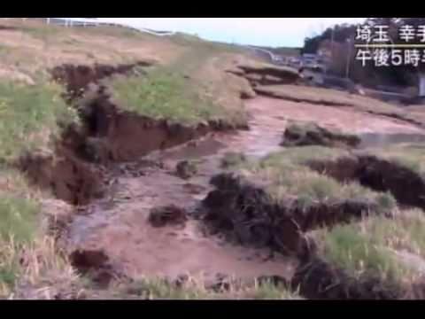 Nuevas imágenes del tsunami en Japón