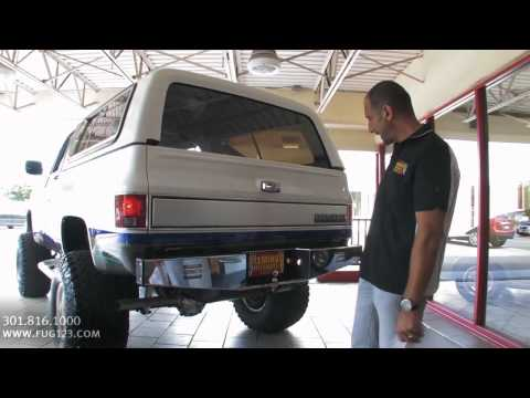 Flemings Ultimate Garage Rockville Maryland 1989 Chevrolet K5 Blazer FOR SALE