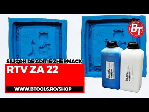 Realizare matrita flexibila din silicon RTV-ZA22/Matrita