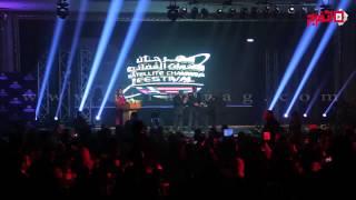 تكريم محمد رمضان وأحمد رزق وكاملة أبو ذكرى بمهرجان القنوات الفضائية