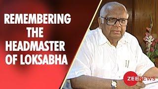 Remembering Somnath Chatterjee – the 'Headmaster' of Lok Sabha - ZEENEWS