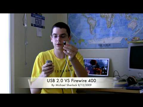 USB 2.0 VS Firewire 400