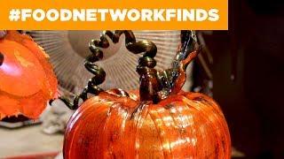 Sugar-Blown Pumpkins | Food Network - FOODNETWORKTV