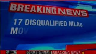 17 disqualified MLAs move Supreme Court; SC to hear arguments on Wednesday - NEWSXLIVE