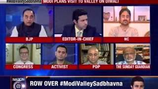 Nation at 9: #ModiValleySadbhavna: BJP: Sadbhavna not tokenism - NEWSXLIVE
