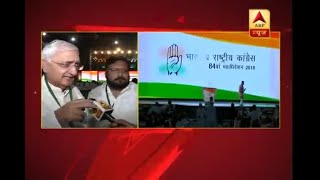 Congress leader Salman Khurshid indicates Rahul Gandhi may raise demand for ballot paper i - ABPNEWSTV