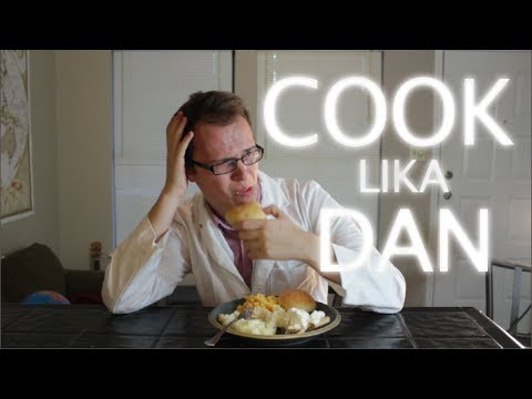 Dan Cooking - Thanksgiving Feast