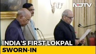 Ex-Top Court Judge Justice PC Ghose Takes Oath As India's First Lokpal - NDTV