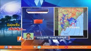 కాట్రేనికోన వద్ద తీరాన్ని తాకిన పెథాయ్ తుఫాను | Heavy Rains in East Godavari | iNews - INEWS
