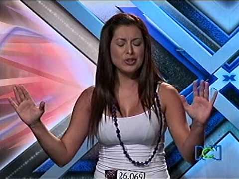 natalia paisa hermosa en el factor x colombia 2009 (audiciones medellin)