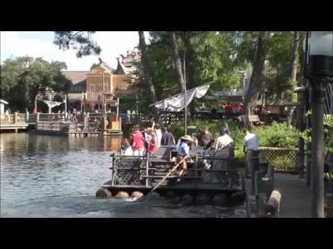 Tom Sawyer Island, Magic Kingdom, Walt Disney World HD (1080p)