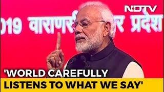 "At NRI Meet, PM Cites Rajiv Gandhi's ""15 Paise"" Remark To Attack Congress - NDTV"