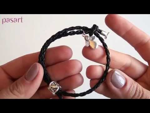 Modna bransoletka sznurkowa z przesuwnym węzłem - 6 sposobów jak zrobić za 1zł - krok po kroku!