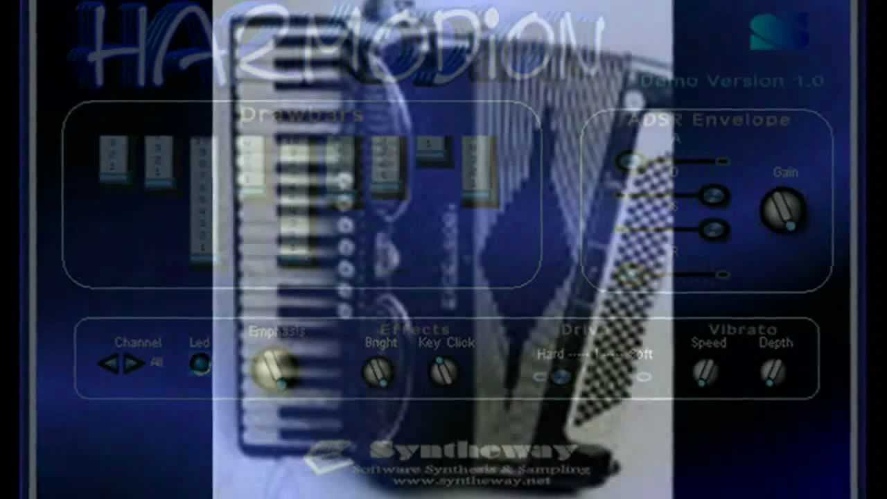 The Irish Rover (J. M. Crofts) Harmodion VST Plugin Software: Virtual Accordion by Syntheway - YouTube